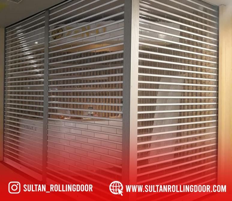 Jual Pemasangan & Perbaikan Rolling Door Polycarbonate